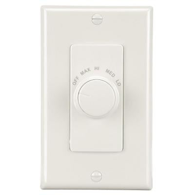 Four Speed Paddle Fan Wall Control