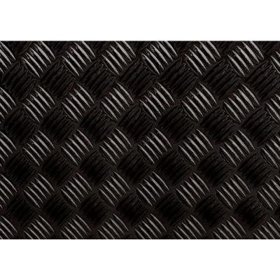 59 in. x 17 in. Black Diamond Plate Decorative Vinyl Film