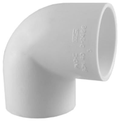3/4 in. PVC Sch. 40 90-Degree S x S Elbow