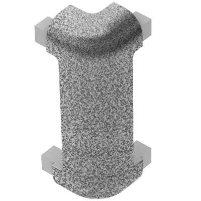 Rondec-CT Tuscan Pewter Color-Coated Aluminum 3/8 in. x 1-31/32 in. Metal 90 Degree Outside Corner