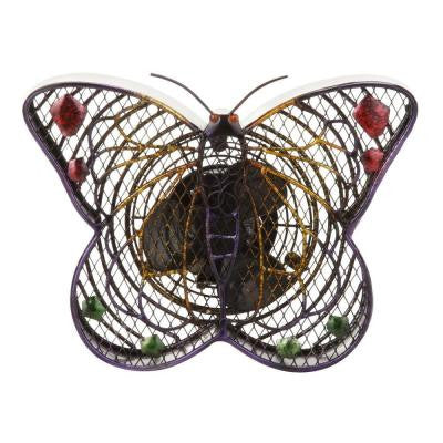 7 in. Figurine Fan-Butterfly Small
