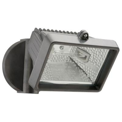 1-Head Mini Bronze Outdoor Flood Light