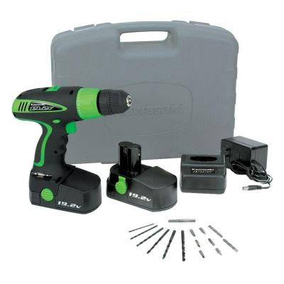 19.2-Volt Cordless Drill Kit with 2-Battery