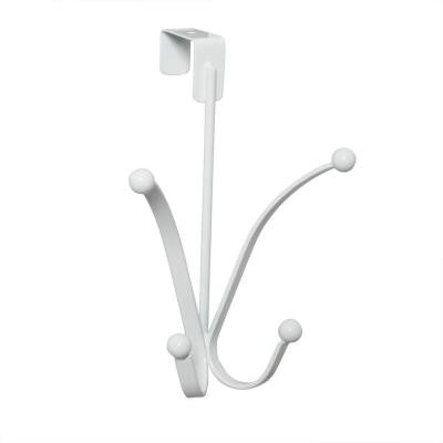 Over-the-Door Butterfly Hooks in White
