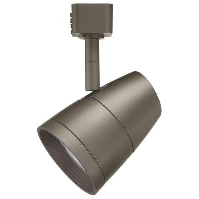 Trac-Lites R600L Series LED 10 Watt Bronze Track Lighting Fixture