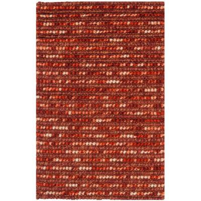 Bohemian Rust/Multi 5 ft. x 8 ft. Area Rug