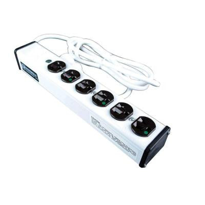 15 ft. 6-Outlet Special Use Hospital Grade Power Strip