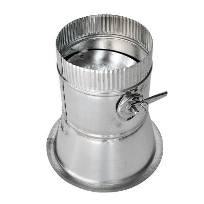 12 in. Conical Flanged Tap with Damper
