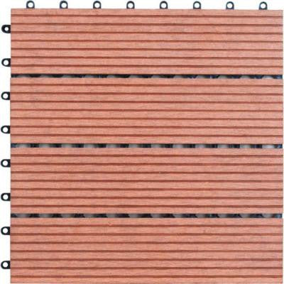 Bamboo Composite Deck Tiles (4-Slat)