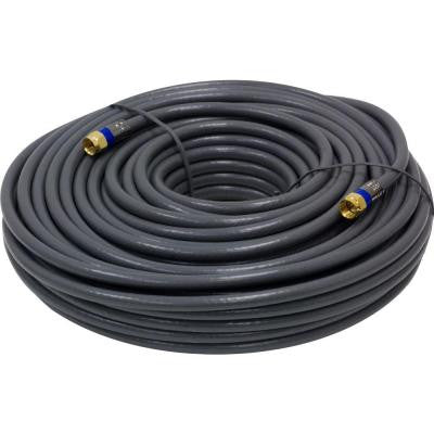 100 ft. In-Wall Coaxial Cable - Gray