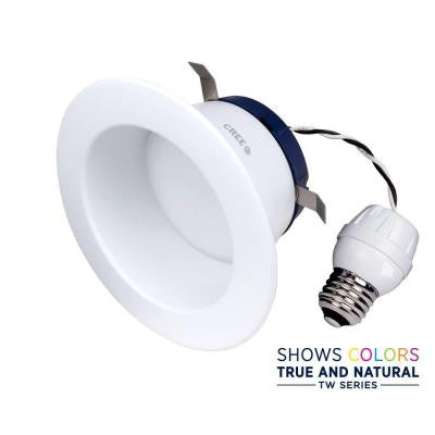 TW Series 65W Equivalent Daylight 4 in. Recessed Dimmable LED Downlight Bulb