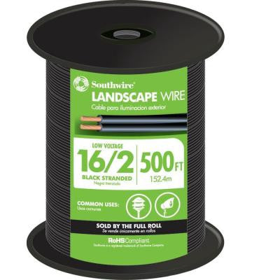 500 ft. 16/2 Landscape Lighting Cable