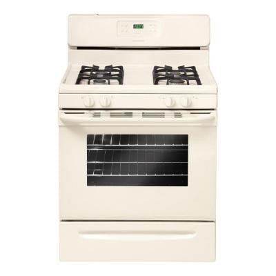 30 in. 5.0 cu. ft. Gas Range with Self-Cleaning Oven in Bisque