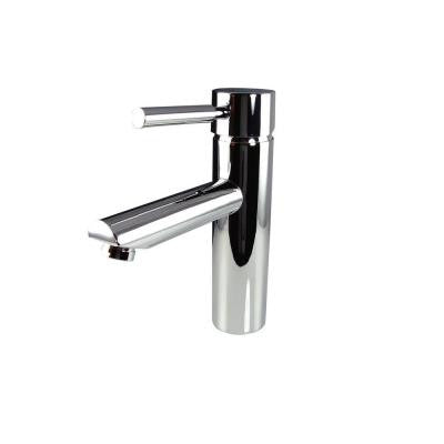 Tartaro Single Hole 1-Handle Low-Arc Bathroom Faucet in Chrome