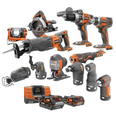 X4 18-Volt Lithium-Ion Cordless Ultimate Contractor Kit (13-Piece)