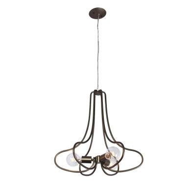 The Whole Package 3-Light New Bronze Chandelier