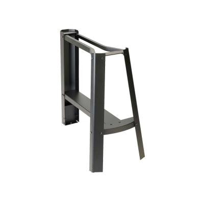 14 in. Metal Scroll Saw Stand in Black