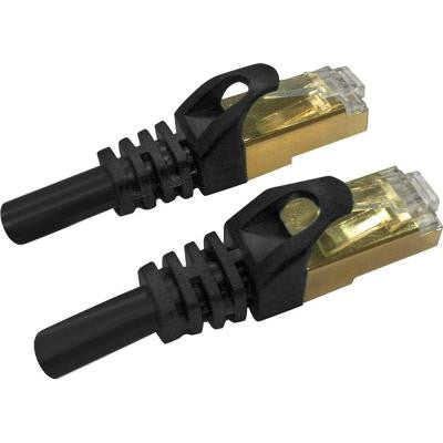 25 ft. CAT7 Patch Cord - Black