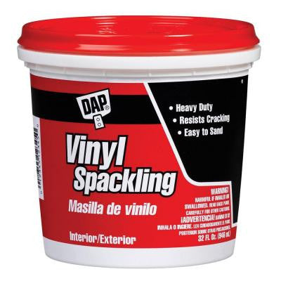 32 oz. White Ready-to-Use Vinyl Spackling (6-Pack)