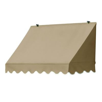 8 ft. Traditional Awning (25 in. Projection) in Sand