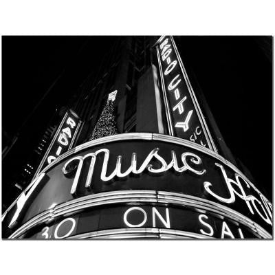 24 in. x 32 in. Radio City Canvas Art