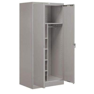 9200 Series 78 in. H x 24 in. D Combination Storage Cabinet Unassembled in Gray