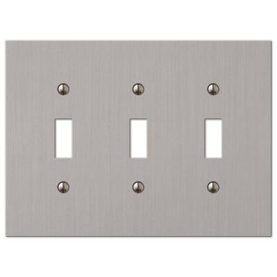 Elan 3 Toggle Wall Plate - Brushed Nickel