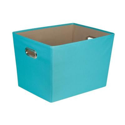 58-Qt. Large Decorative Storage Bin with Handles