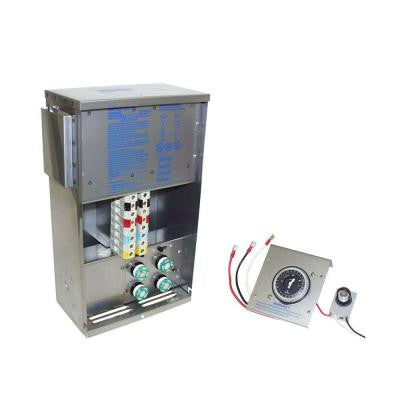PowerCenter Transformer with Digital Timer and Photocell Stainless Steel Finish