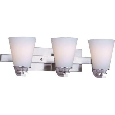 Conical 3-Light Bath Vanity