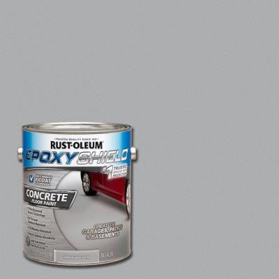 1-gal. Armor Gray Satin Concrete Floor Paint (2-Pack)