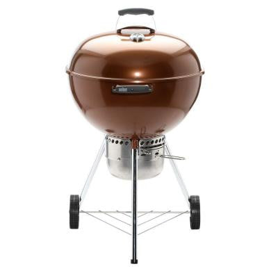 Original Kettle Premium 22 in. Charcoal Grill in Copper
