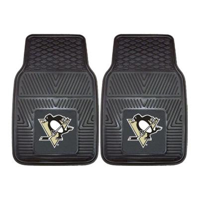 Pittsburgh Penguins 18 in. x 27 in. 2-Piece Heavy Duty Vinyl Car Mat