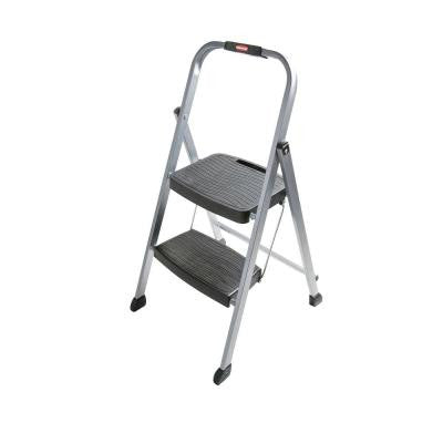 2-Step Steel Step Stool Ladder
