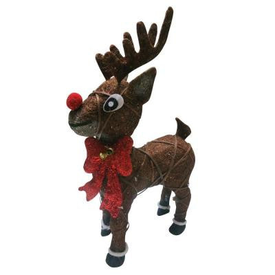 22 in. Rudolph Reindeer with 35 Halogen Lights
