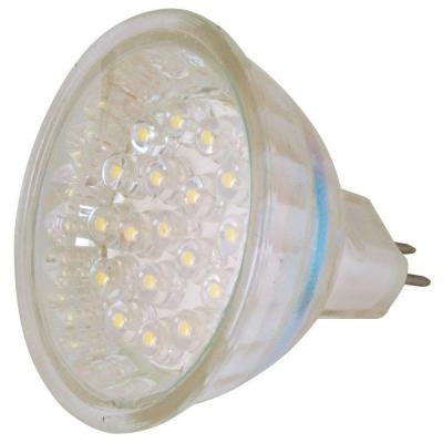 Clear Glass Low Voltage 1.8-Watt MR-16 LED Landscape Lighting Replacement Bulb