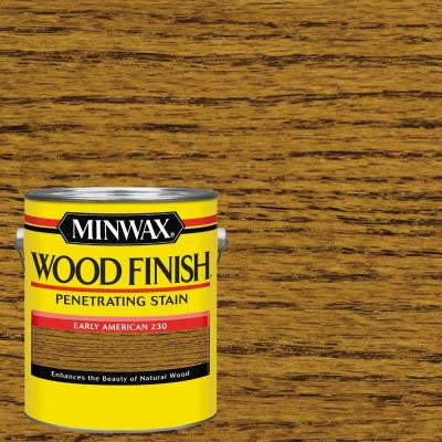 1 gal. Wood Finish Early American Oil-Based Interior Stain (2-Pack)