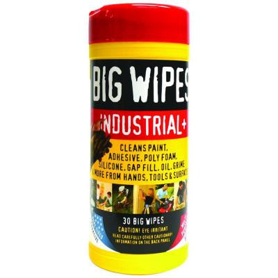 Big Wipes Industrial Plus Wipes (30-Count)
