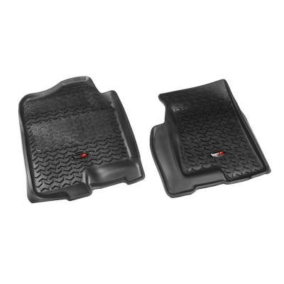 Floor Liner Front Pair Black 2002-2006 GM Full-Size Pickup and SUV