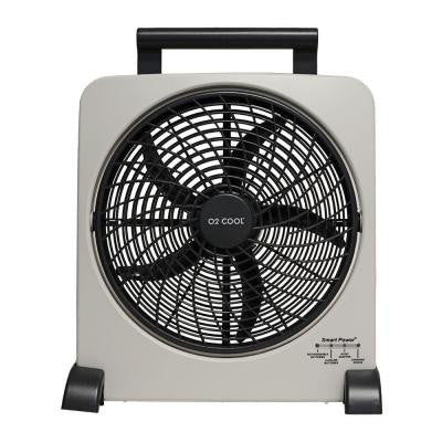 Rechargeable 10 in. Fan with USB Charging Port
