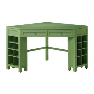 Rhododendron Leaf Corner Craft Table