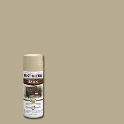 12 oz. Protective Enamel Satin Putty Spray Paint (Case of 6)