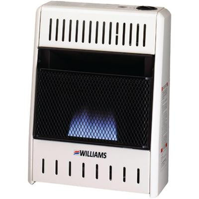 10,000 BTU/Hr Heater Natural or Propane Blue Flame