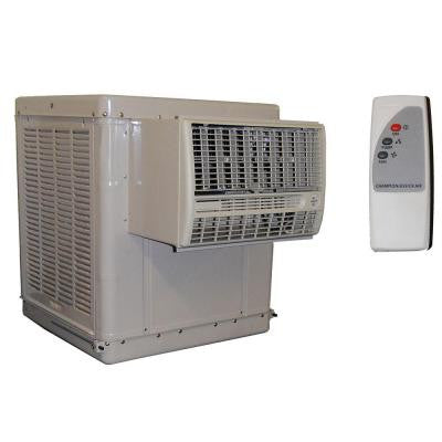 3300 CFM 2-Speed Window Evaporative Cooler for 800 sq. ft. (with Motor and Remote Control)