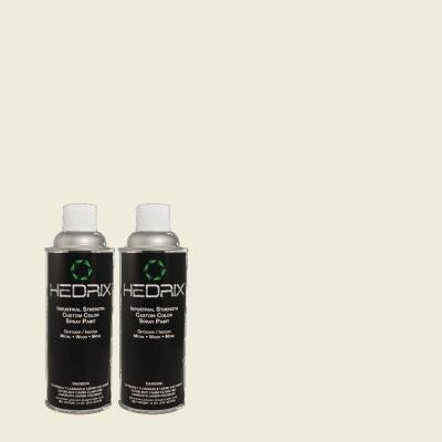11 oz. Match of ECC-37-2 Grand Heron Low Lustre Custom Spray Paint (2-Pack)
