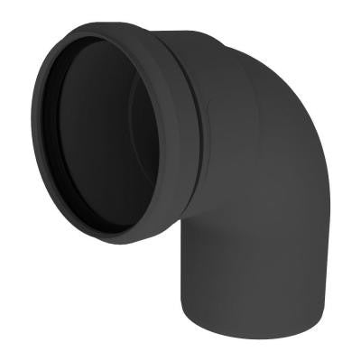 3 in. 90-Degree Elbow in UV Black