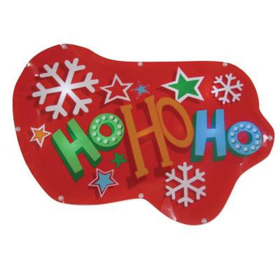 "Battery-Operated 16 in. ""HoHoHo"" LED Light Show Sign"