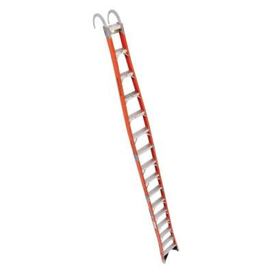 16 ft. Fiberglass Tapered Posting Extension Ladder with 300 lb. Load Capacity Type IA Duty Rating