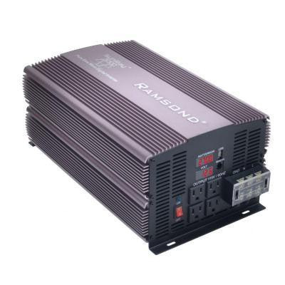Sunray 3000 Pure Sine Wave Intelligent DC to AC Inverter (24-Volt)