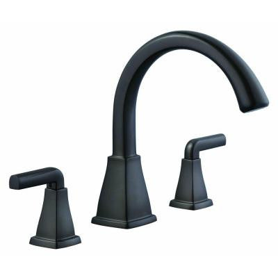 12000 Series 2-Handle Deck-Mount Roman Tub Faucet in Oil Rubbed Bronze